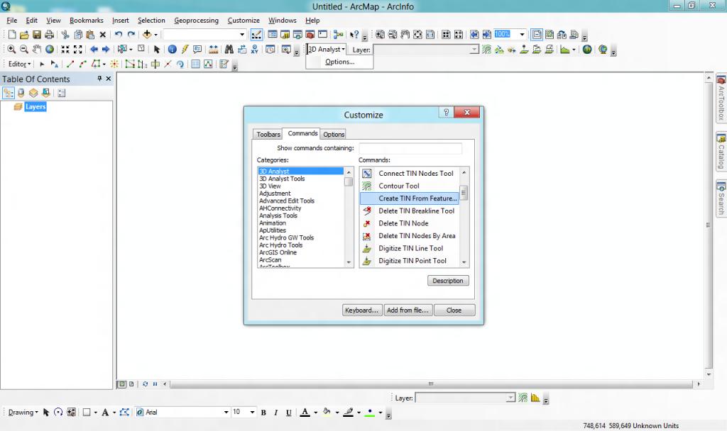 Barra 3D Analyst en ArcGIS 10 | El blog de franz